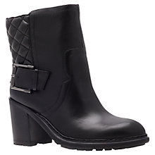 Buy Nine West Layea Ankle Boots, Black Online at johnlewis.com