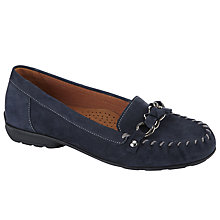 Buy Gabor Casa Nubuck Loafers Online at johnlewis.com