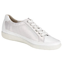 Buy Gabor Amulet Trainers, Silver Online at johnlewis.com