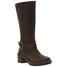 Buy Dune Rowan Calf Boots, Brown Online at johnlewis.com