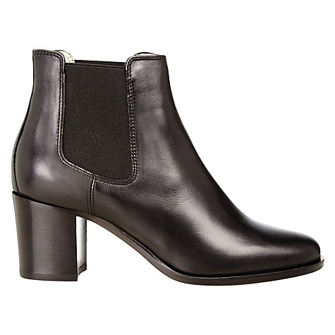 Buy Hobbs Blake Heeled Chelsea Boots, Black Online at johnlewis.com