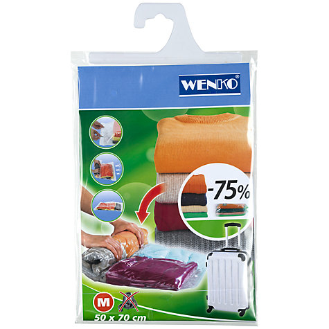 Buy Wenko Travel Vacuum Storage Bag Online at johnlewis.com
