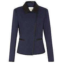 Buy Reiss Tulum Jacket, Navy Online at johnlewis.com