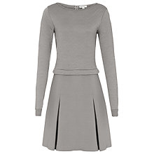 Buy Reiss Kula Quilted Dress Online at johnlewis.com