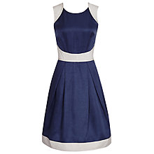 Buy Reiss Teddy Quilted Dress, Navy Online at johnlewis.com