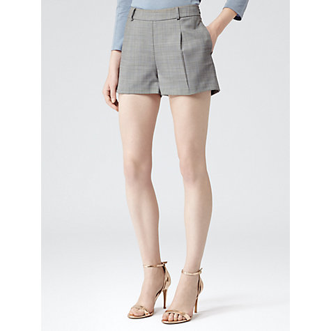 Buy Reiss Cooper Bye Tailored Shorts, Grey Online at johnlewis.com