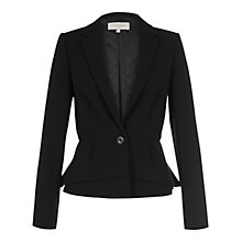 Buy Hobbs Lola Jacket, Black Online at johnlewis.com