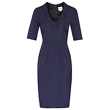 Buy Reiss Angel Panel Dress, Indigo Online at johnlewis.com