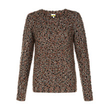 Buy NW3 by Hobbs Multi-Fleck Jumper, Black/Multi Online at johnlewis.com