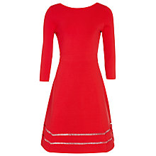 Buy Reiss Didsbury Dress, Red Online at johnlewis.com