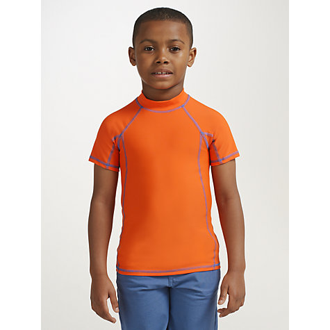 Buy John Lewis Boy Plain Rash Vest Online at johnlewis.com