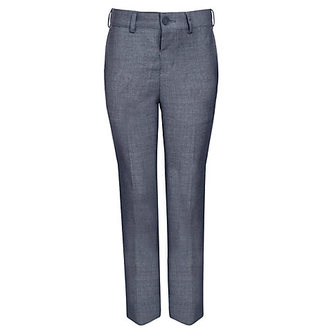 Buy John Lewis Heirloom Collection Boys' Sharkskin Trousers, Grey Online at johnlewis.com