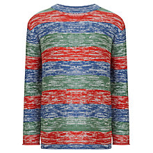 Buy John Lewis Boy Space Dye Jumper, Multi Online at johnlewis.com