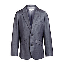 Buy John Lewis Heirloom Collection Boys' Shark Skin Suit Jacket, Grey Online at johnlewis.com