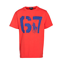 Buy Polo Ralph Lauren Boys' 67 Graphic T-Shirt Online at johnlewis.com