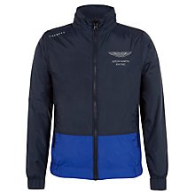 Buy Hackett London Boys' Aston Martin Racing Reversible Jacket, Navy/Blue Online at johnlewis.com