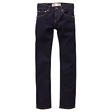 Buy Levi's Boys' 510 Skinny Fit Denim Jeans, Indigo Online at johnlewis.com