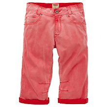 Buy Levi's Boys' Isaac Bermuda Shorts, Red Online at johnlewis.com