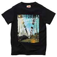 Buy Levi's Boys' Emory T-Shirt, Black Online at johnlewis.com