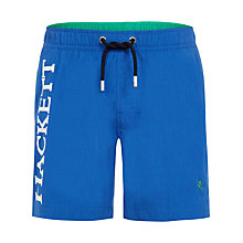Buy Hackett Boys' Swim Shorts, Blue Online at johnlewis.com