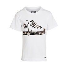 Buy Converse Boys' Camo Hi-Top T-Shirt Online at johnlewis.com