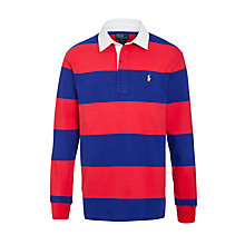 Buy Polo Ralph Lauren Stripe Rugby Top Online at johnlewis.com