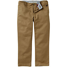 Buy Crew Clothing Boys' Winton Chino Trousers, Caramel Online at johnlewis.com