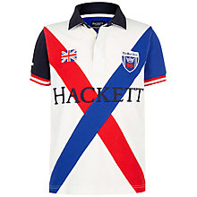 Buy Hackett London Boys' Boat Race Polo Shirt, Multi Online at johnlewis.com