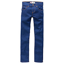 Buy Levi's Boys' 510 Skinny Fit Denim Jeans, Blue Online at johnlewis.com