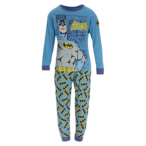 Buy Batman Pyjamas, Blue/Multi Online at johnlewis.com