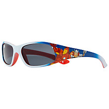 Buy John Lewis Boy Avengers Sunglasses, Orange/Blue Online at johnlewis.com