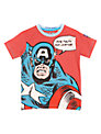 Captain America T-shirt, Red Marl