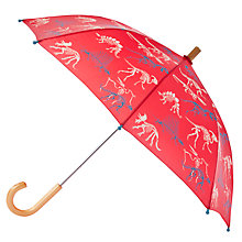 Buy Hatley Children's Dinosaur Bones Umbrella, Red Multi Online at johnlewis.com