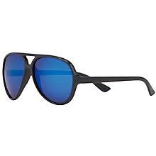Buy John Lewis Boy Aviator Sunglasses with Reflective Lenses, Grey Online at johnlewis.com