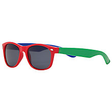 Buy John Lewis Boy Colour Block Wayfarer Sunglasses, Multi Online at johnlewis.com