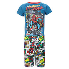 Buy Spider-Man Shortie Pyjamas, Blue/Multi Online at johnlewis.com