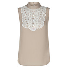 Buy Hobbs Isla Top, Nude Pink Online at johnlewis.com