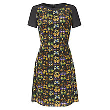 Buy NW3 by Hobbs Flutter Dress, Multi Online at johnlewis.com
