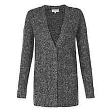 Buy Hobbs Lizzi Cardigan, Grey Melange Multi Online at johnlewis.com