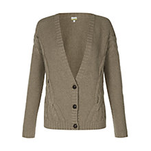 Buy NW3 by Hobbs Cyril Cardigan, Oatmeal Beige Online at johnlewis.com