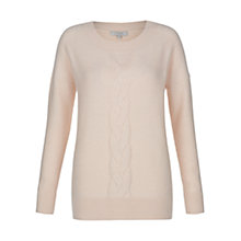 Buy Hobbs Sidonie Jumper, Soft Pink Online at johnlewis.com
