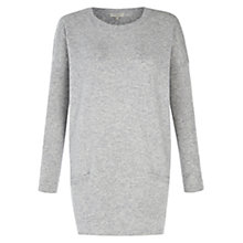 Buy Hobbs Izzy Jumper, Grey Online at johnlewis.com