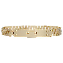 Buy Reiss Jada Metal Chain Drop, Gold Online at johnlewis.com