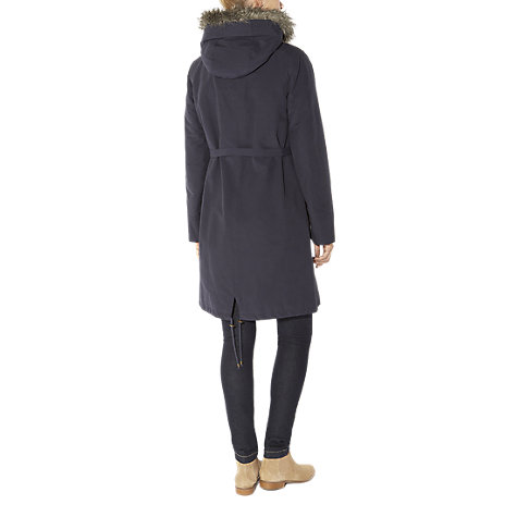 Buy Hobbs Lucian Parka, Maritime Blue Online at johnlewis.com