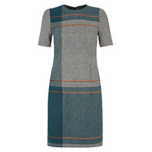 Buy Hobbs Pipher Dress, Teal Online at johnlewis.com