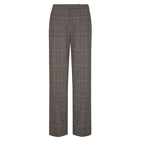 Buy NW3 by Hobbs Beaton Wide Leg Trousers, Black/Multi Online at johnlewis.com
