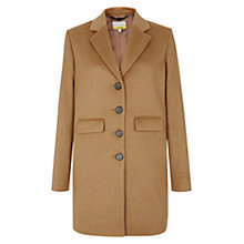 Buy NW3 by Hobbs Etty Coat, Caramel Beige Online at johnlewis.com