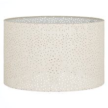 Buy John Lewis Alice Pierced Linen Shade Online at johnlewis.com