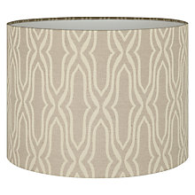Buy Voyage Lenzari Weave Lampshade Online at johnlewis.com