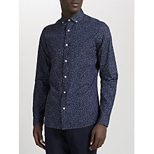 Buy Kin by John Lewis Drop Print Long Sleeve Shirt Online at johnlewis.com